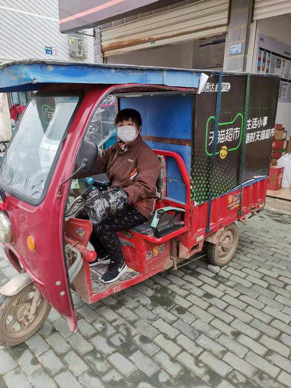 Chuyện giao hàng ở Vũ Hán giữa dịch bệnh: Đâu thể chỉ nghĩ cho mình - Ảnh 2.
