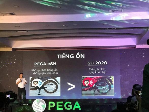 Honda Việt Nam dọa kiện Pega vì so sánh xe SH khi quảng cáo - Ảnh 1.