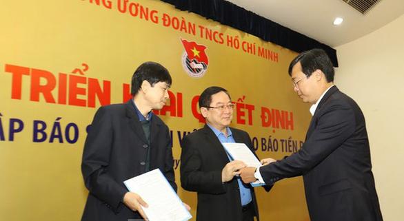Sáp nhập báo Sinh Viên Việt Nam vào báo Tiền Phong - Ảnh 1.