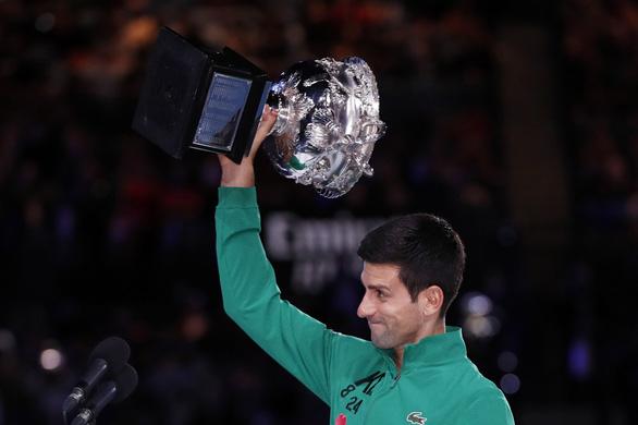 Đánh bại Thiem, Djokovic lần thứ 8 vô địch Giải Úc mở rộng - Ảnh 1.