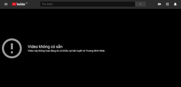 Sau khiếu nại 4 tỉ bản quyền, MV Gánh mẹ của Lý Hải Production bị YouTube gỡ - Ảnh 1.