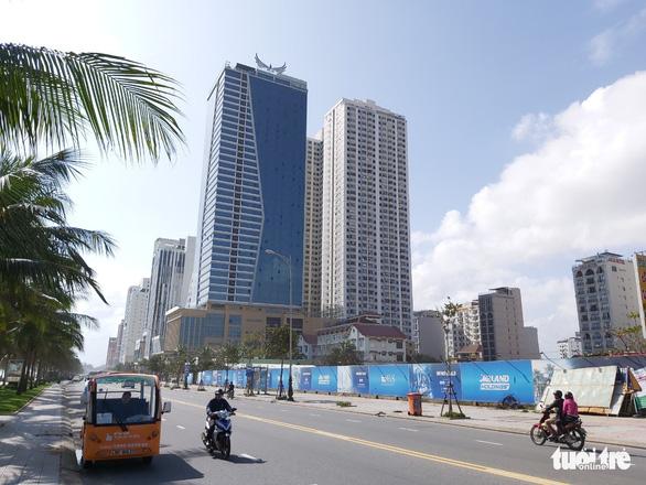 Công an xác minh vi phạm kinh doanh bất động sản của Mường Thanh Đà Nẵng - Ảnh 1.