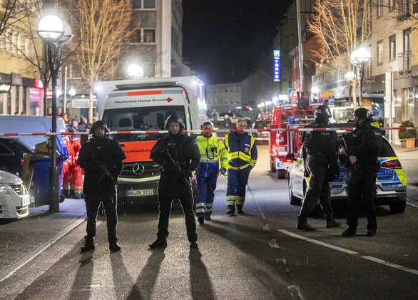 Đức: Xả súng vào quán shisha, ít nhất 8 người chết - Ảnh 1.