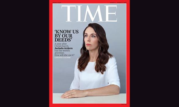 Vì sao nữ thủ tướng New Zealand được chọn lên bìa tạp chí Time? - Ảnh 1.