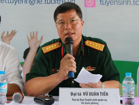 Bộ Quốc phòng công bố phương án tuyển sinh các trường quân sự năm 2020 - Ảnh 1.