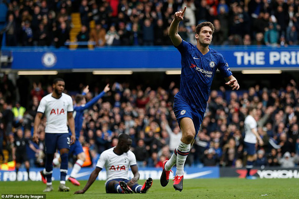 Chelsea - Tottenham 2-1: Mourinho lại bại trận trước học trò Lampard - Ảnh 2.