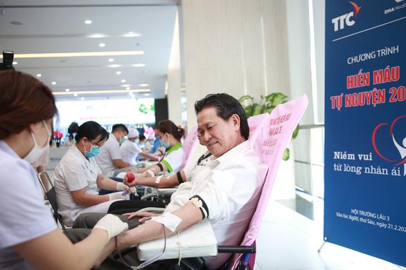 TTC gấp rút tổ chúc hiến máu thường niên lần thứ 9 để tiếp tế mùa dịch COVID-19 - Ảnh 3.