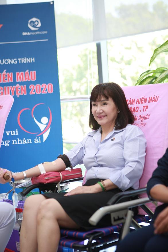 TTC gấp rút tổ chúc hiến máu thường niên lần thứ 9 để tiếp tế mùa dịch COVID-19 - Ảnh 4.