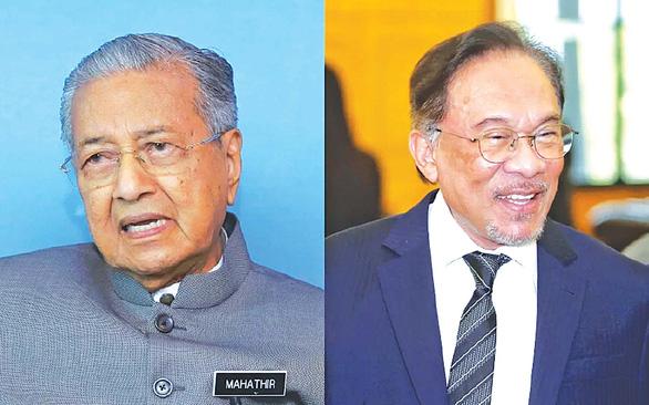 Mahathir - Anwar: Cuộc chơi vẫn bỏ ngỏ - Ảnh 1.