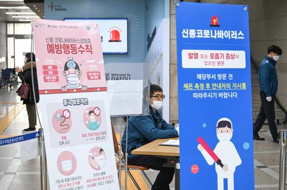 Có ca tử vong thứ 6 do COVID-19, Hàn Quốc nâng báo động lên mức cao nhất - Ảnh 8.