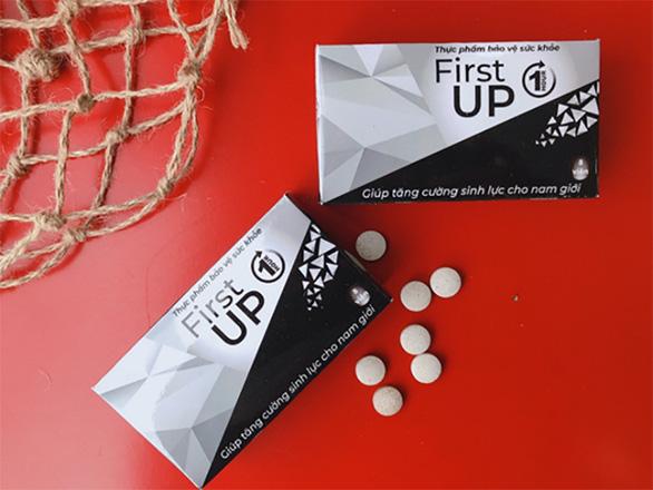 First Up - Giải pháp cải thiện và giữ vững phong độ cho phái mạnh - Ảnh 2.