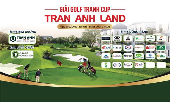 Thêm giải Golf tranh cúp được tổ chức tại Long An - Ảnh 1.