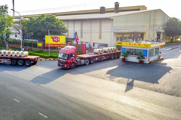 Tập đoàn Hoa Sen công bố dòng sản phẩm mới Hoa Sen Gold - Ảnh 1.