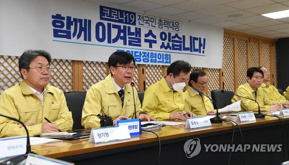 Hàn Quốc xét nghiệm virus corona với mọi tín đồ của Tân Thiên Địa - Ảnh 1.