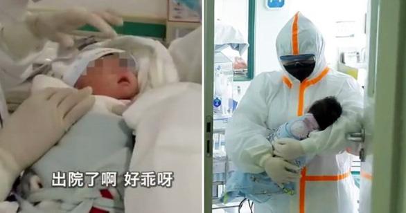Bé sơ sinh 17 ngày tuổi bị COVID-19 tự khỏi bệnh - Ảnh 1.