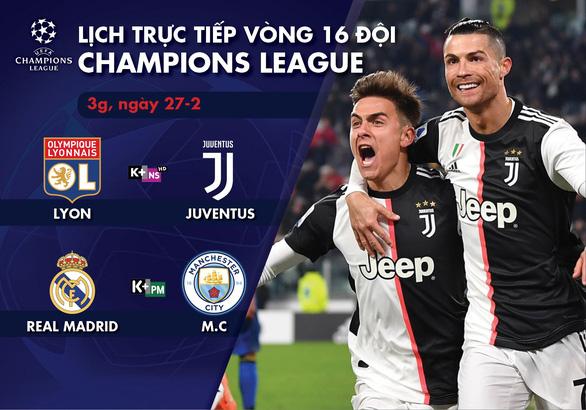Lịch trực tiếp Champions League: Real Madrid - Man City - Ảnh 1.