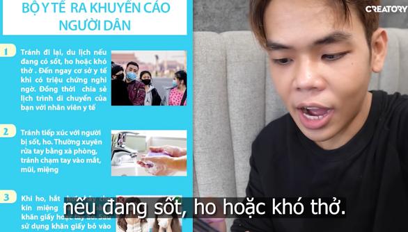 Đánh giặc corona và khi các YouTuber, Vlogger hát, bàn về COVID-19 - Ảnh 4.