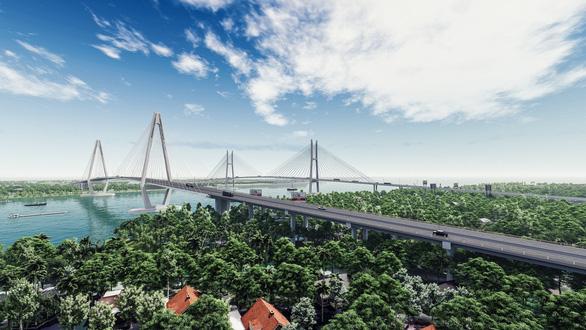 Hôm nay, thi công gói thầu đầu tiên của cầu Mỹ Thuận 2 - Ảnh 1.