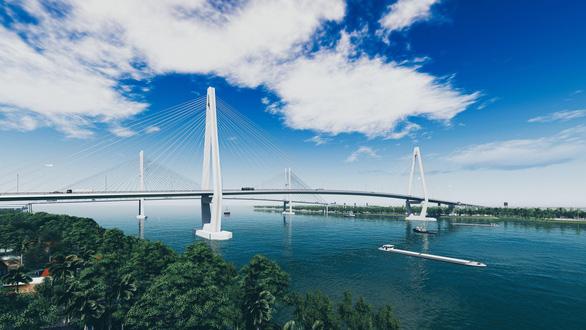 Hôm nay, thi công gói thầu đầu tiên của cầu Mỹ Thuận 2 - Ảnh 3.