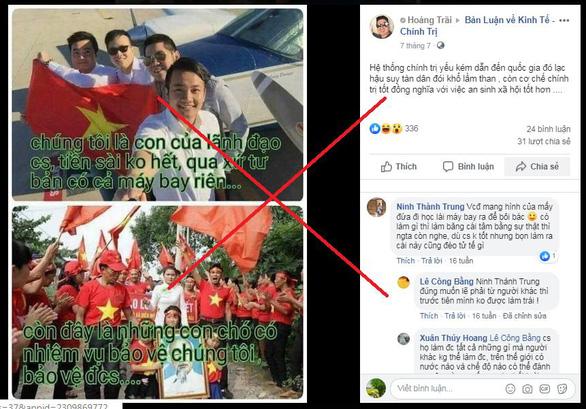 Xử phạt hai thanh niên đăng, chia sẻ 189 bài viết xuyên tạc trên Facebook - Ảnh 1.