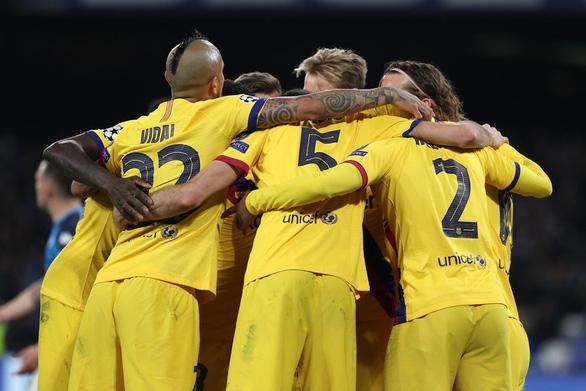 Griezmann 'nổ súng', Barcelona cầm chân Napoli tại San Paolo - Ảnh 4.