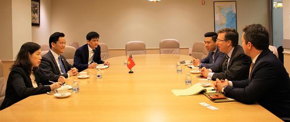 Việt Nam thúc đẩy hợp tác với Mỹ, cung cấp thông tin 'Việt Nam an toàn' về tình hình corona - Ảnh 1.