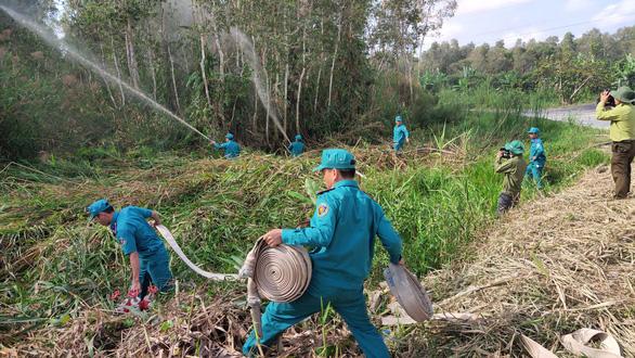 Nguy cơ cháy rừng ở Vườn quốc gia U Minh Hạ rất lớn - Ảnh 4.