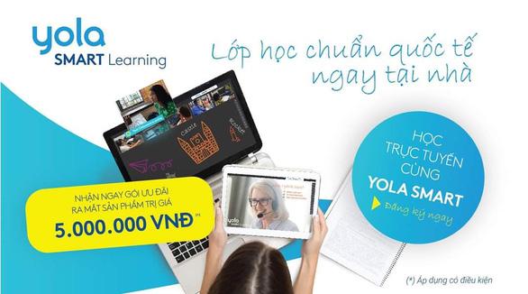 Khám phá lớp học tiếng Anh trực tuyến YOLA SMART - Ảnh 1.