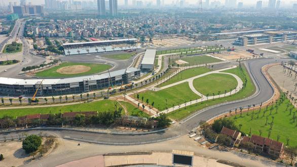 Đường đua F1 Việt Nam đã hoàn thành thi công - Ảnh 1.