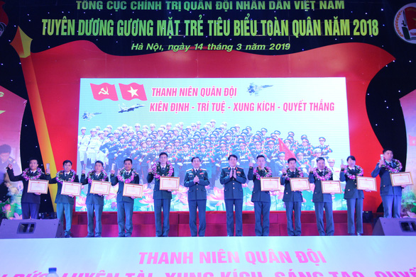 Ba đề cử Gương mặt trẻ Việt Nam tiêu biểu đoạt giải Gương mặt trẻ tiêu biểu toàn quân - Ảnh 1.