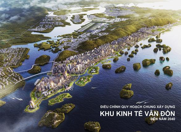 Quảng Ninh công bố viễn cảnh Vân Đồn đến năm 2040 - Ảnh 1.