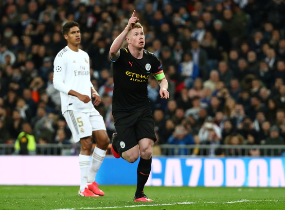 De Bruyne hóa thánh, Man City thắng ngược Real Madrid tại Bernabeu - Ảnh 2.