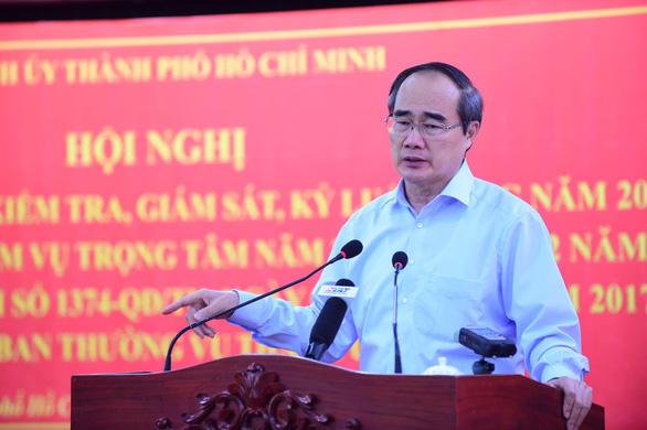 Bí thư Nguyễn Thiện Nhân: Không thể chính quyền làm sai mà quận huyện ủy không biết - Ảnh 1.
