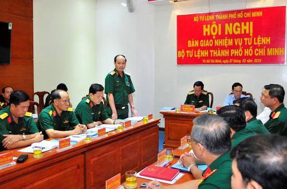 Phó tư lệnh Quân khu 7 giữ chức tư lệnh Bộ Tư lệnh TP.HCM - Ảnh 1.