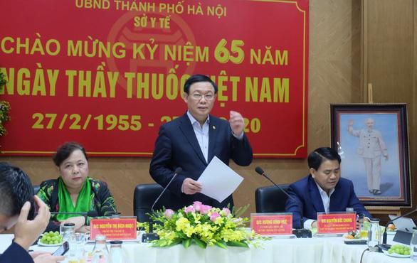 Bí thư Hà Nội Vương Đình Huệ: Phải tính đến tình huống cách ly cả khu phố - Ảnh 2.