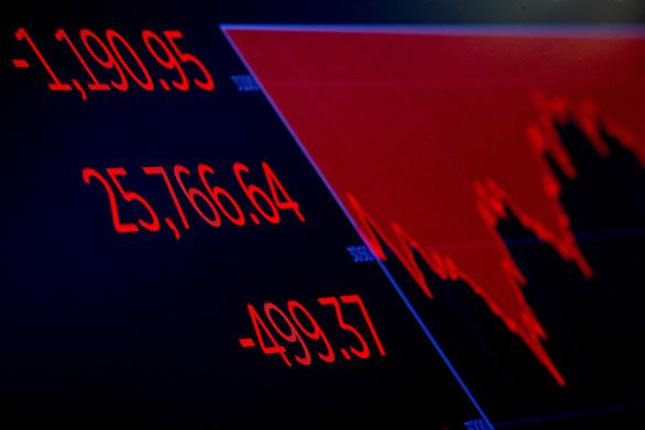 Chứng khoán Mỹ rực lửa, Dow Jones mất gần 2.000 điểm vì corona - Ảnh 1.