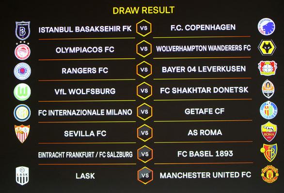 Man Utd gặp đội yếu tại vòng 16 đội Europa League - Ảnh 1.