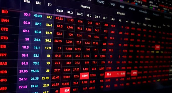 VN-Index lao dốc sau khi chứng khoán Mỹ giảm kỷ lục - Ảnh 1.
