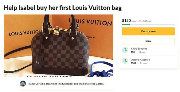 Cho tôi nghìn đô mua túi LV, được không? - Ảnh 1.