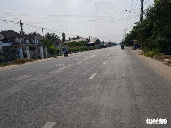 Long Xuyên: sắp đền bù để hoàn thành tỉnh lộ 943 - Ảnh 2.