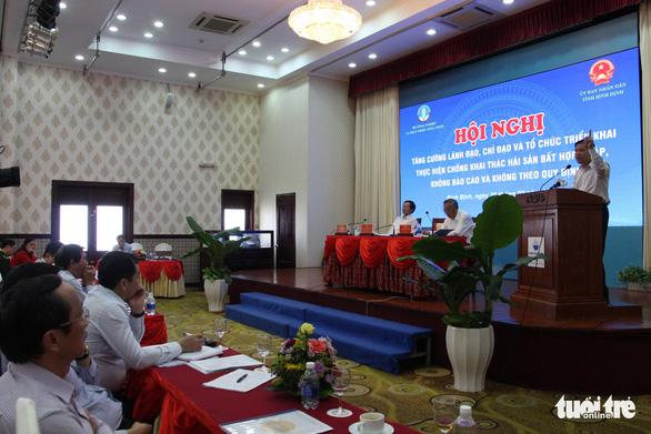 Bộ trưởng Nguyễn Xuân Cường: Không chấp nhận nghề cá tự phát, tận diệt - Ảnh 1.