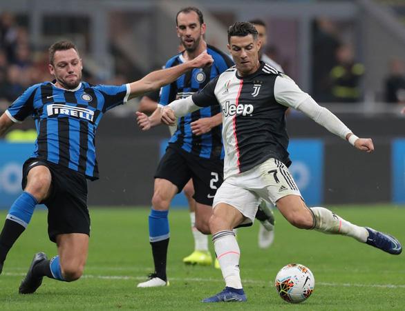 Dời đại chiến Juventus - Inter Milan sang tháng 5 vì COVID-19 - Ảnh 1.