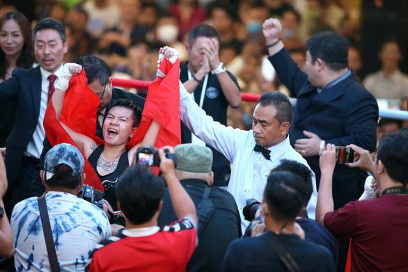 Thu Nhi - nữ võ sĩ quyền anh Việt Nam đầu tiên giành đai WBO châu Á-Thái Bình Dương - Ảnh 2.