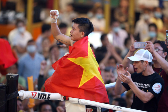 Thu Nhi - nữ võ sĩ quyền anh Việt Nam đầu tiên giành đai WBO châu Á-Thái Bình Dương - Ảnh 3.