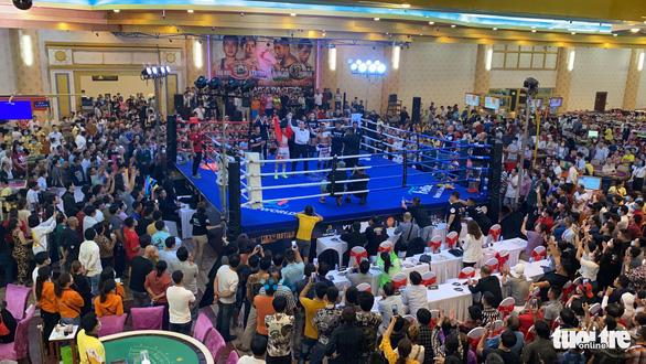 Đêm toàn thắng của quyền Anh Việt Nam tranh đai WBO châu Á - Thái Bình Dương - Ảnh 1.