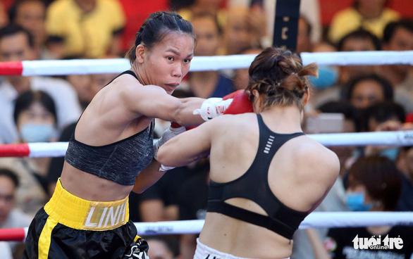 Đêm toàn thắng của quyền Anh Việt Nam tranh đai WBO châu Á - Thái Bình Dương - Ảnh 2.