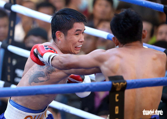 Đêm toàn thắng của quyền Anh Việt Nam tranh đai WBO châu Á - Thái Bình Dương - Ảnh 3.