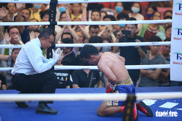 Đêm toàn thắng của quyền Anh Việt Nam tranh đai WBO châu Á - Thái Bình Dương - Ảnh 4.