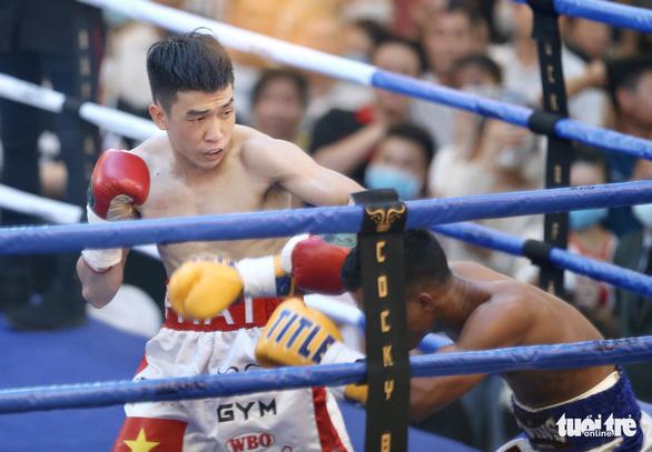 Đêm toàn thắng của quyền Anh Việt Nam tranh đai WBO châu Á - Thái Bình Dương - Ảnh 7.