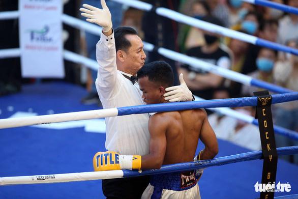 Đêm toàn thắng của quyền Anh Việt Nam tranh đai WBO châu Á - Thái Bình Dương - Ảnh 8.